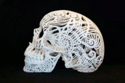 scull-in-3d-print